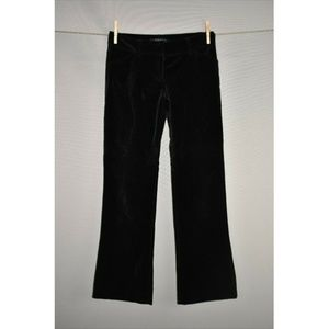 THEORY Velvet Low Rise Cropped Pant